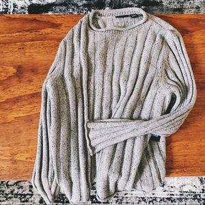Relativity Sweaters - NWT grey ribbed oversized chunky cozy sweater p1